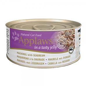 Applaws Cat Dose Makrele & Dorade in Gelee 24x70g