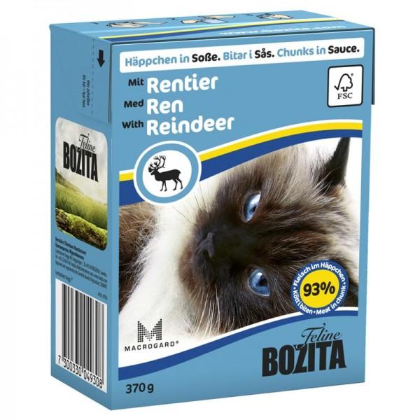 Bozita Häppchen in Soße mit Rentier 370g