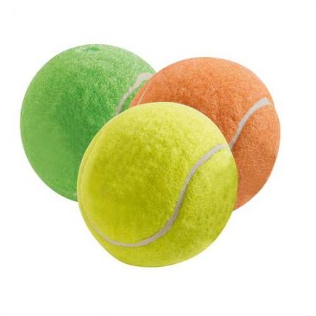 HUNTER Smart Hundespielzeug Tennisbälle Colour 3er