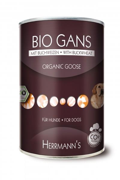 Herrmanns Bio Gans mit Buchweizen 12x400g