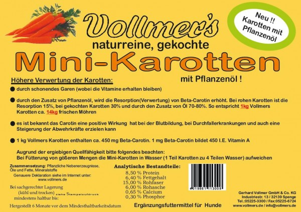 Vollmers Mini-Karotten