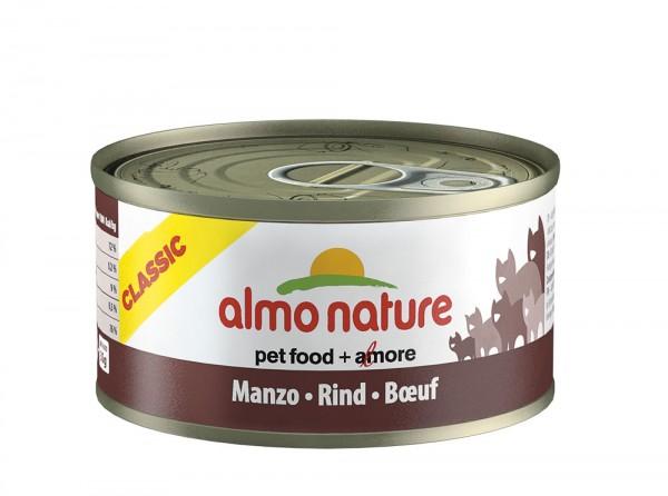Almo Nature Cat Classic Rind 70g