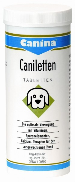 Canina Pharma Caniletten Tab 300g
