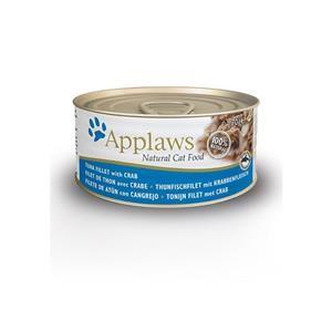 Applaws Cat Dose Thunfischfilet & Krabbe 24x70g