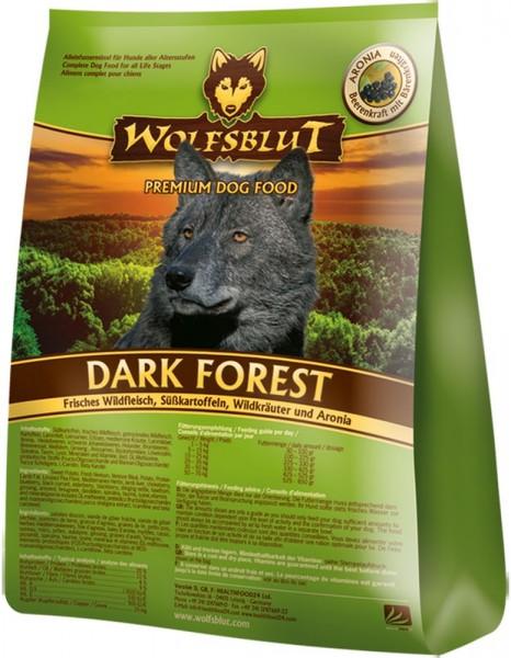 Wolfsblut Dark Forest Wild & Süßkartoffel 15kg