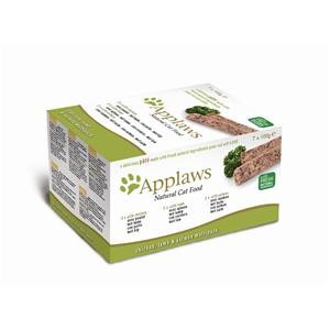 Applaws Cat Schale Multipack Paté Huhn, Lamm & Lachs 7x100g