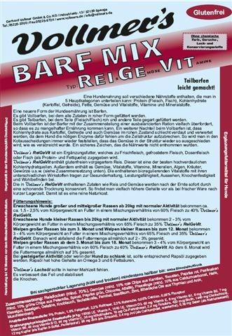 Vollmers Barf Mix ReiGeVit
