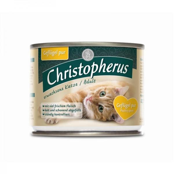 Christopherus Adult Geflügel pur 200g