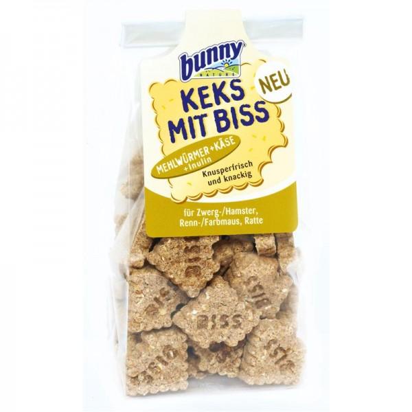 Bunny Keks mit Biss Mehlwürmer + Käse 50g