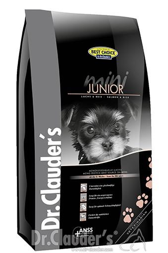 Dr. Clauders BestChoice Mini Junior Lachs&Reis