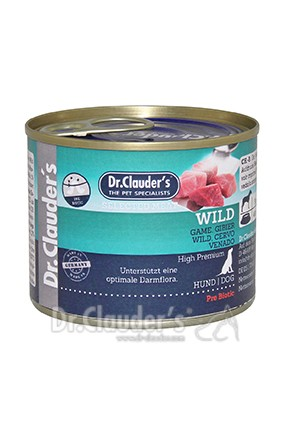 Dr. Clauders Selected Meat Wild