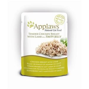 Applaws Cat Pouchbeutel Huhn & Lamm in Gelee 16x70g