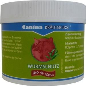 Canina Pharma Kräuter Doc Wurmschutz 25g