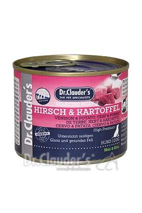 Dr. Clauders Selected Meat Hirsch & Kartoffel