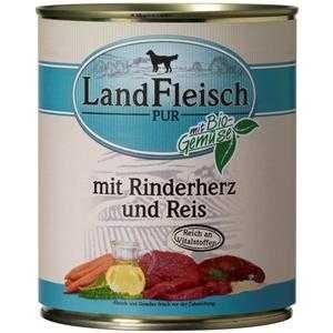 LandFleisch Pur Rinderherzen & Reis