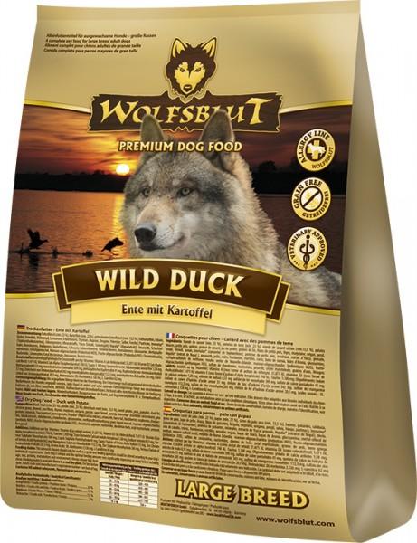 Wolfsblut Wild Duck Large Breed Ente & Kartoffel 15kg