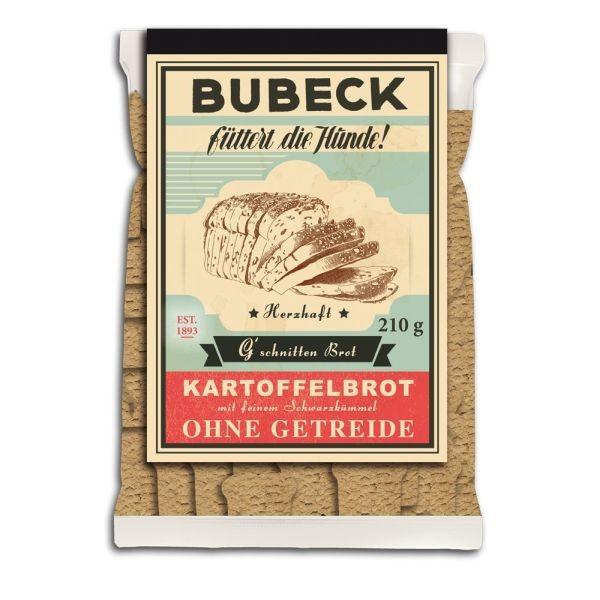 Bubeck G'schnittenBrot 210g MHD04.10.19