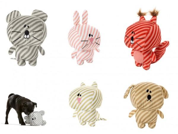 HUNTER Hundespielzeug Striped Stars