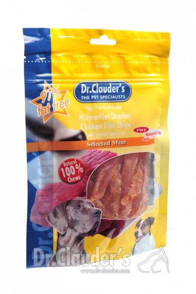 Dr. Clauders Snack Strips Hühnerbrustfiletspitzen 80g