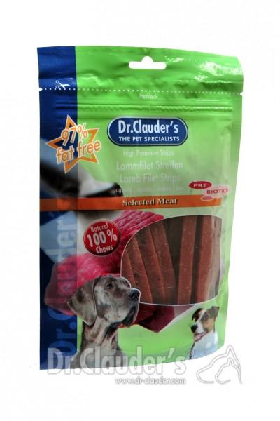 Dr. Clauders Snack Strips Lammfiletstreifen 80g