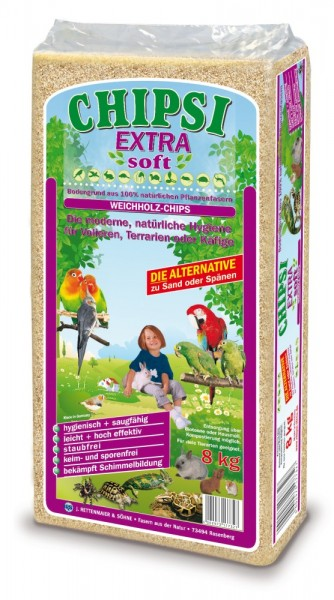 Chipsi Extra Soft 8 kg