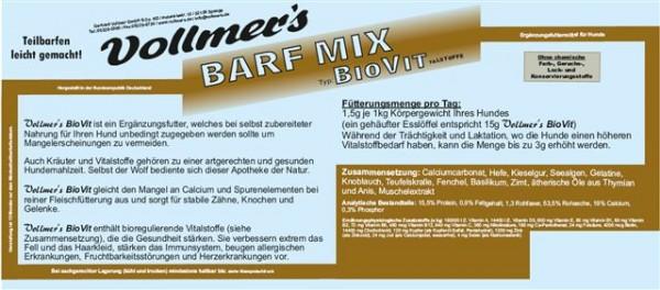 Vollmers Barf Mix BioVit