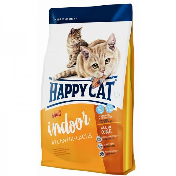 Happy Cat Indoor Atlantik Lachs