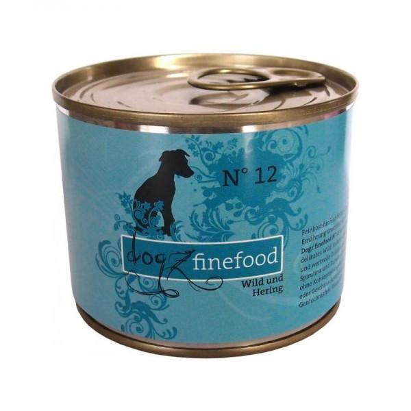 DogzFineFood No.12 Wild+Hering