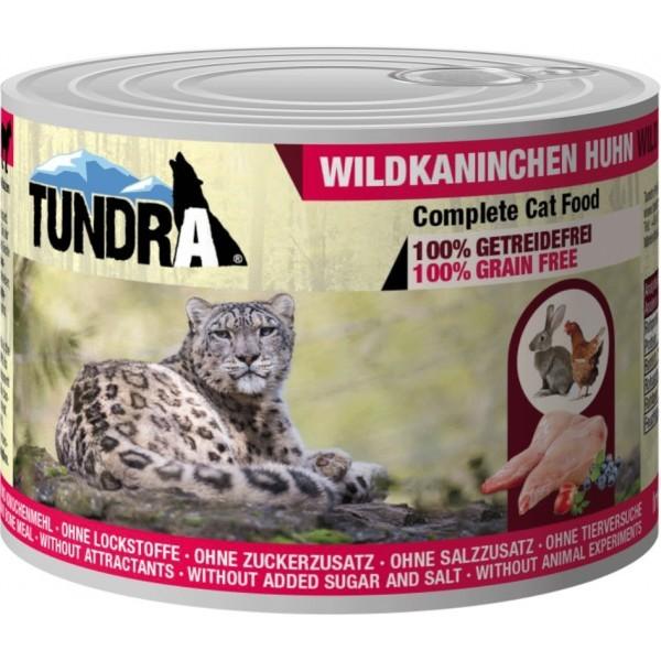 Tundra Cat Wildkaninchen+Huhn
