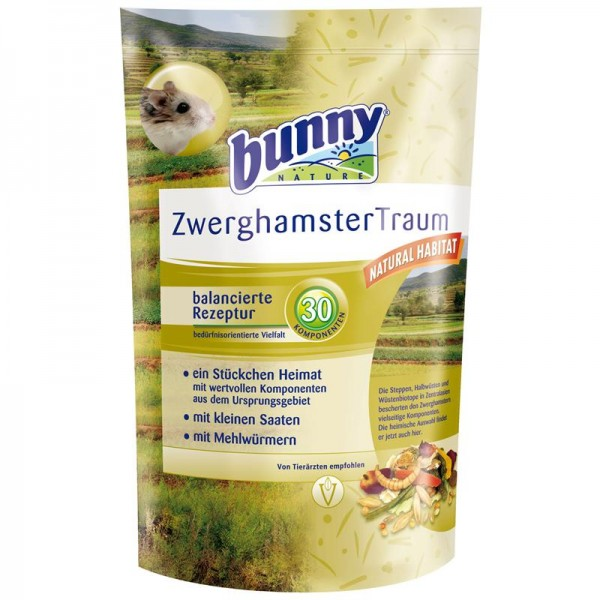 Bunny ZwerghamsterTraum basic 600g