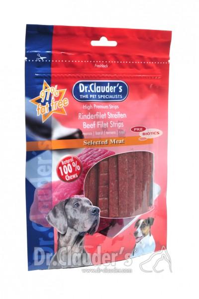 Dr. Clauders Snack Strips Rinderfiletstreifen 80g
