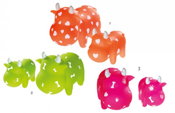HUNTER Smart Hundespielzeug Squeezy Cow