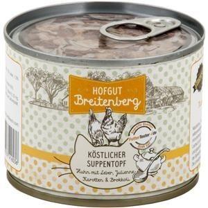 Hofgut Breitenberg Cat köstlicher Suppentopf 180g